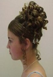 side view updo
